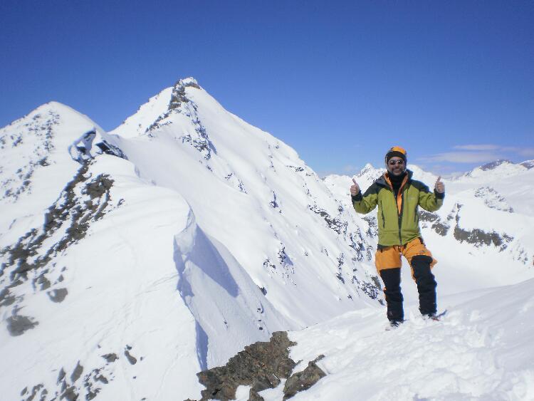 エルブルース登山と氷河スキー其...